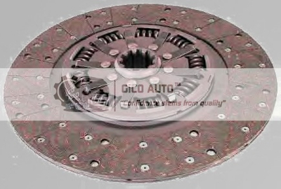 Clutch Disc 1861997137 / 1861 997 137 VOLVO G380D013