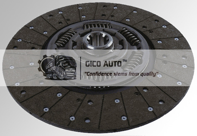 Clutch Disc 1878004540 / 1878 004 540 MAN G395D003